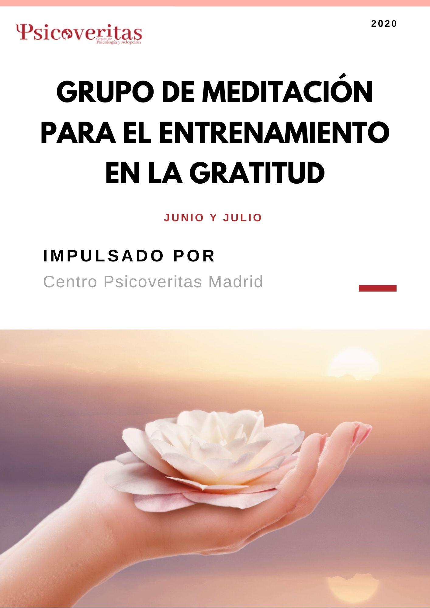 Programa de Gratitud Junio y Julio 2020
