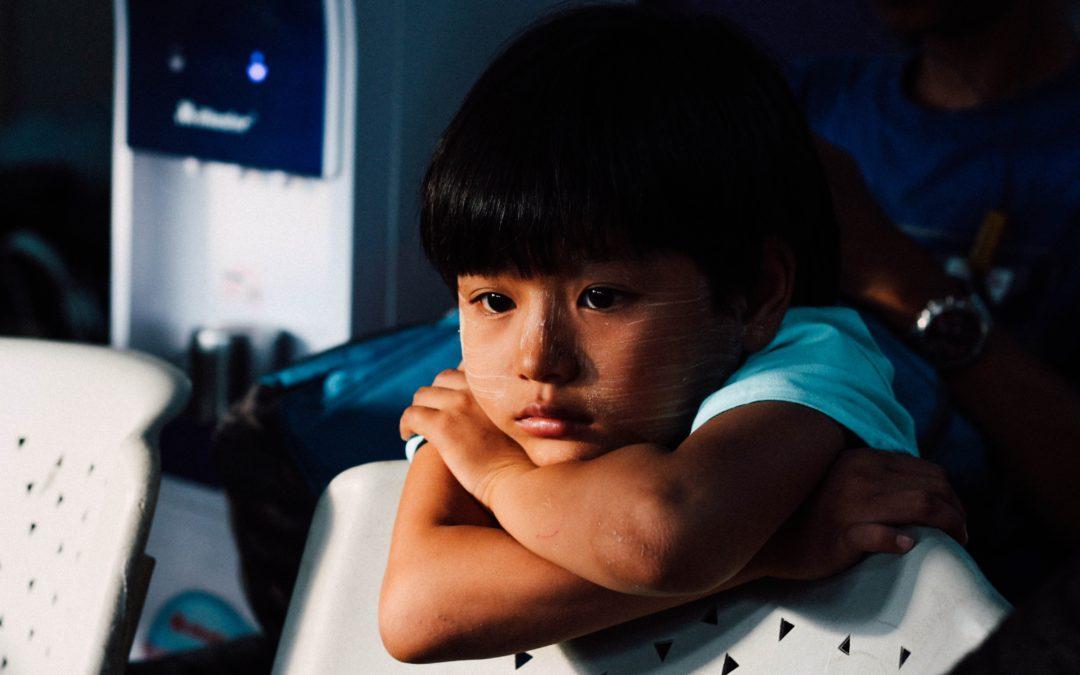 La depresión en los niños.